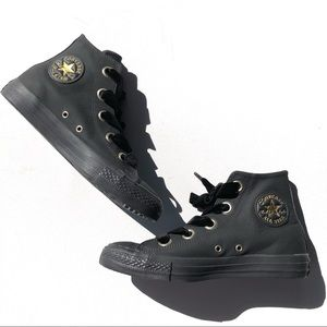 NEW! CONVERSE WOMEN'S CHUCK TAYLOR LEATHER HI TOP